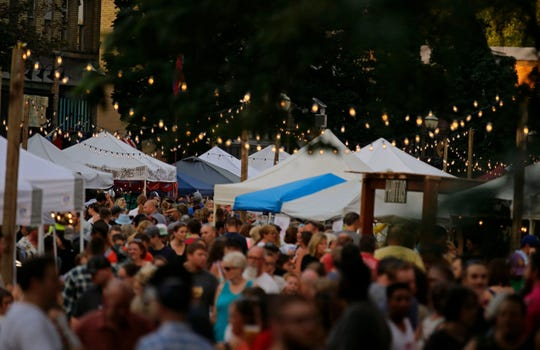 The first Bazaar After Dark night market of 2019 will be May 11 in Brillion. Two more will be held in different Fox Cities locations in the months that follow.