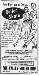 This ad for Fox Valley Roller Rink ran in The Post-Crescent in January 1963. The roller rink in Neenah is still going strong more than 50 years later.
