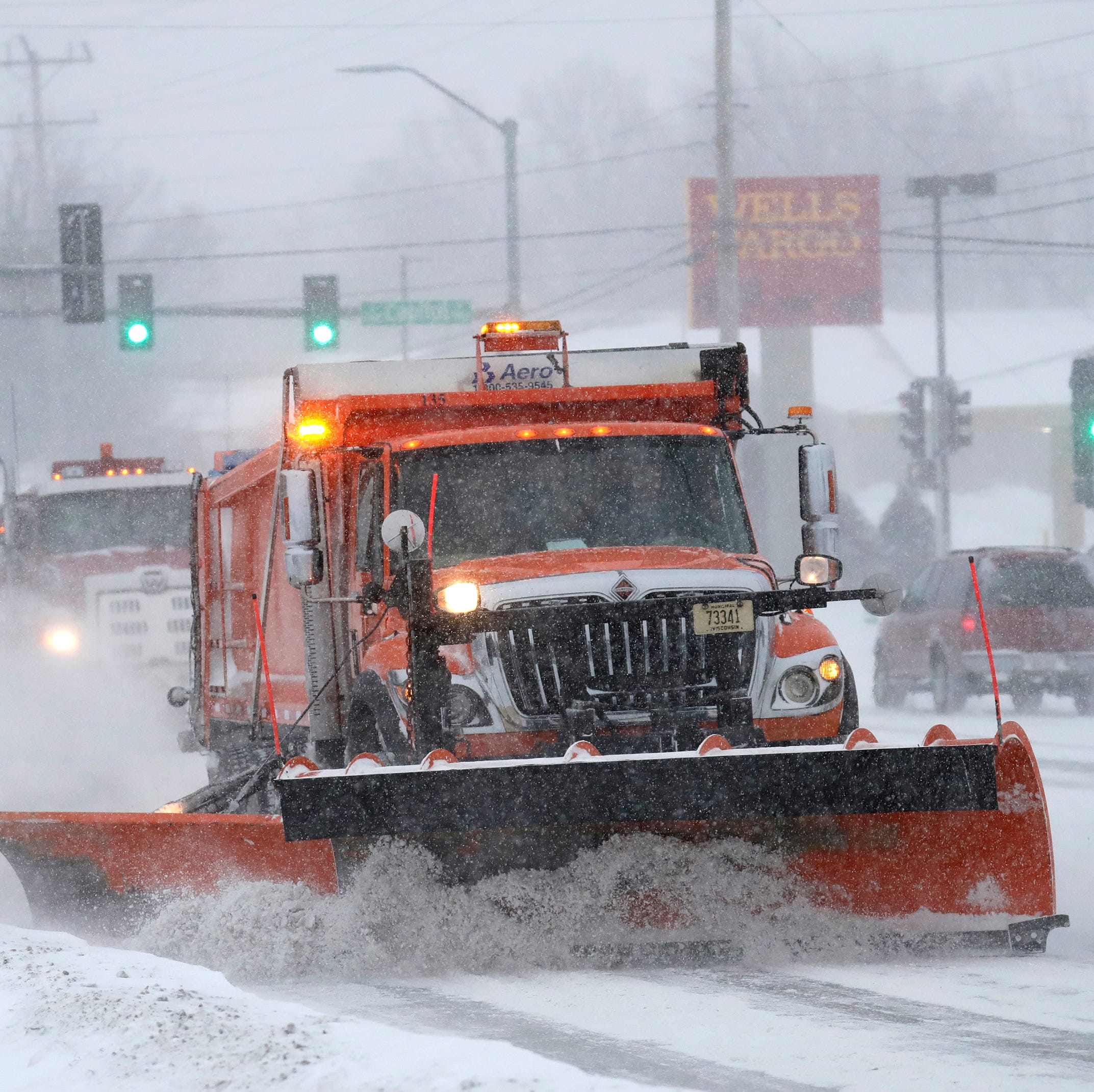 City of Oshkosh garbage collection still on, despite snow; town of Algoma canceled