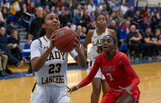 St John Vianney Girls Basketball vs Saddle River Prep in Coaches Choice USA Basketball in Holmdel NJ on January 27, 2019.