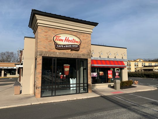 Tim Hortons specializes in doughnuts and coffee.