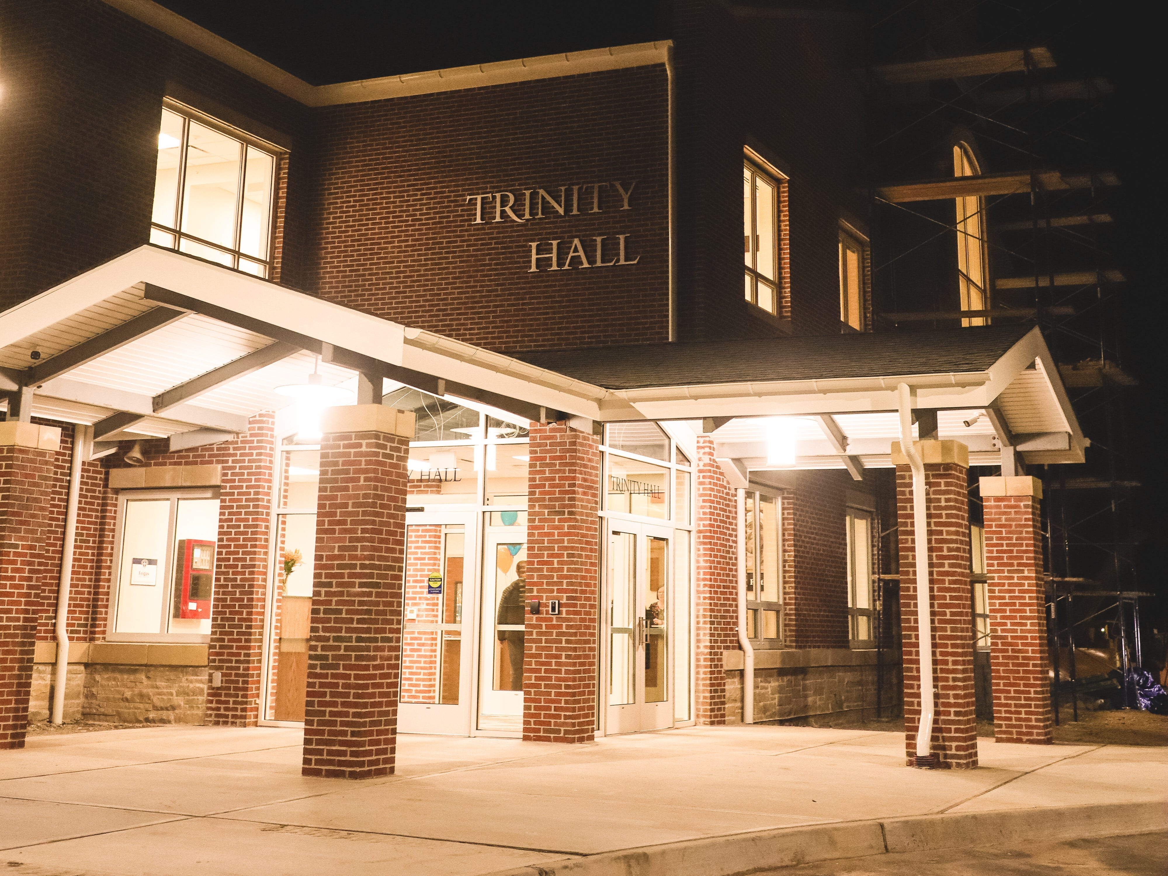 The new addition of Trinity Hall, an all-girls private school in Tinton Falls. Jan. 25, 2019.