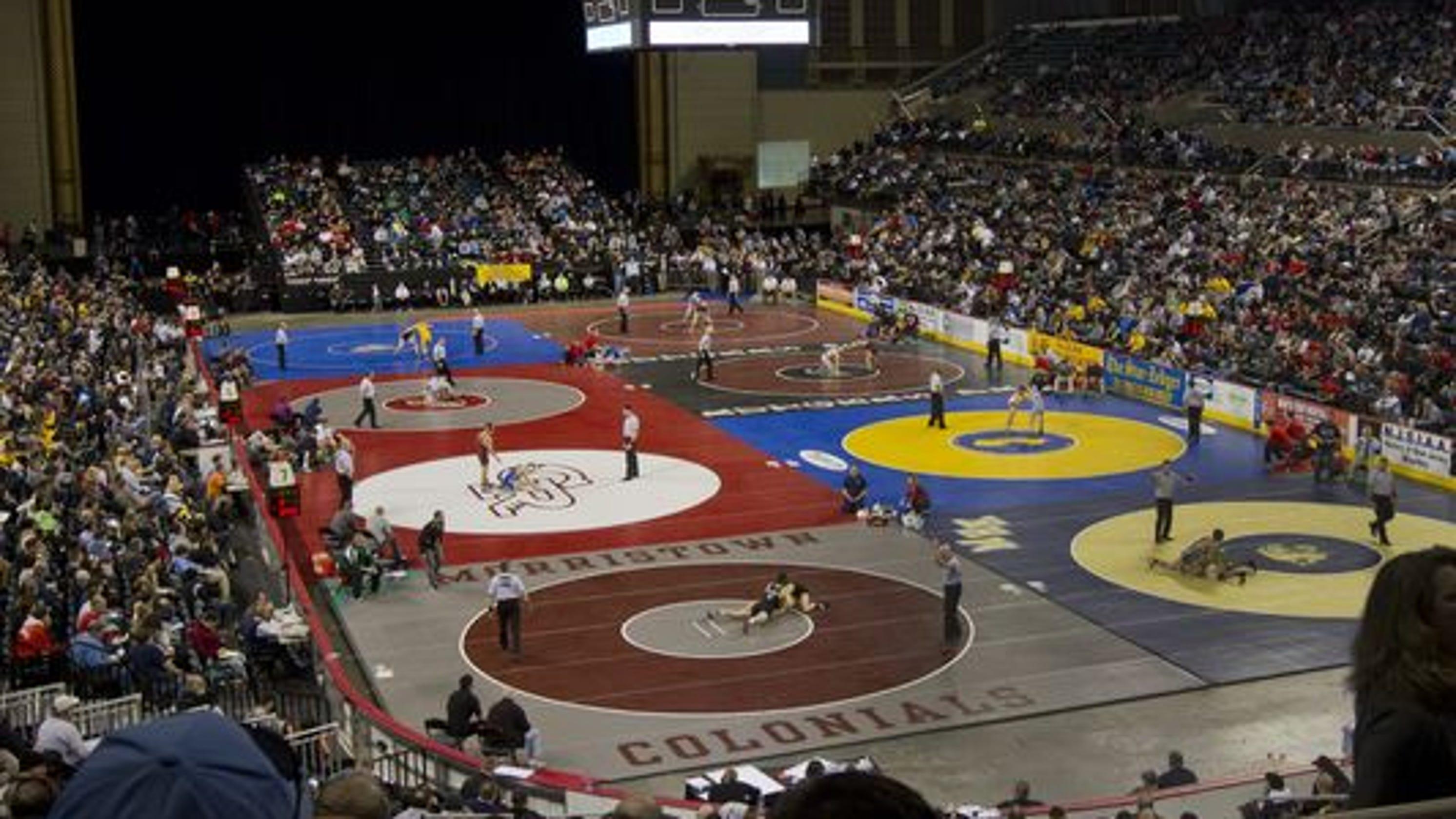 NJ wrestling: NJSIAA Team Tournament pairings
