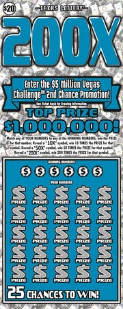 200X Texas Lottery