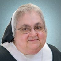 Sister Joanna Monticello, Mercy House social work and spiritual care director, remembered