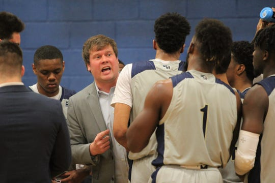 Through 20 games, Montreat College head coach Garrett Jones has guided the Cavaliers to a 16-4 record.