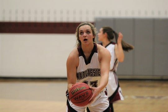 Chesney Gardner was leading the Western Highlands Conference in scoring with 27.3 points per game as of Jan. 27.