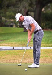 Mickey DeMorat is a former Eastern Florida State College golfer who played in the U.S. Open last year. The Merritt Island High graduate is working toward obtaining his PGA Tour card. He practices often at Suntree Country Club.