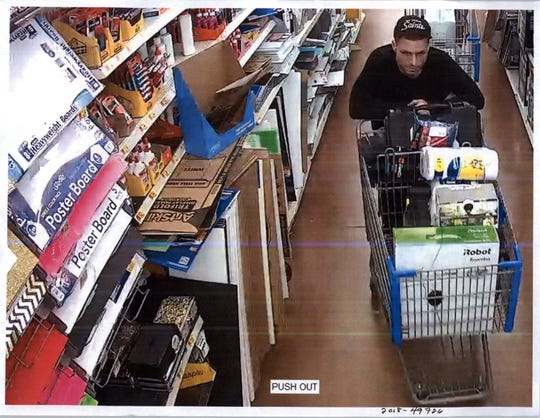 At least three suspects are being sought for a grand theft from Walmart, 2700 Clearlake Road.