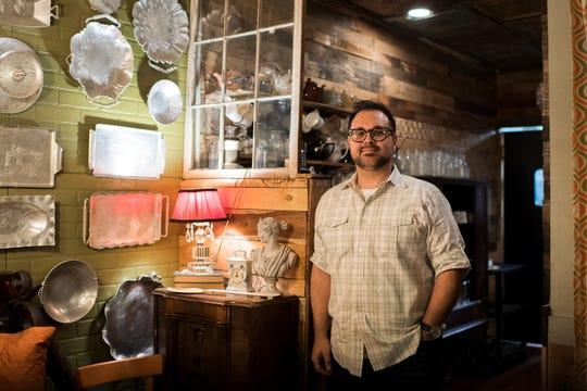 Santiago Orosco inside his restaurant Under the Moon Monday, Jan. 28, 2019 in Bordentown, N.J.