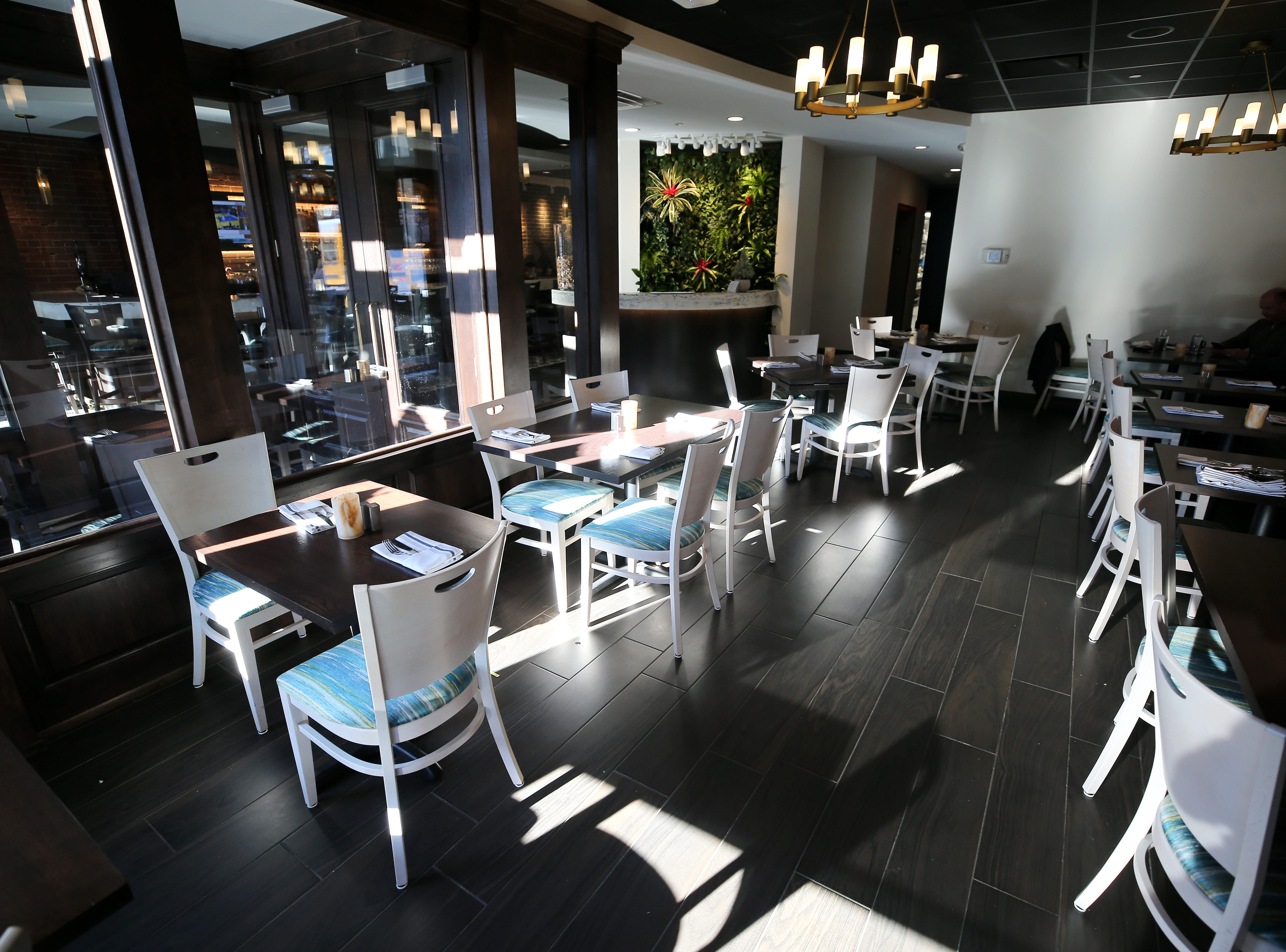 View of the downstairs dining room, pictured, Friday, Jan. 25, 2019, at Tano Bistro restaurant in Loveland, Ohio.