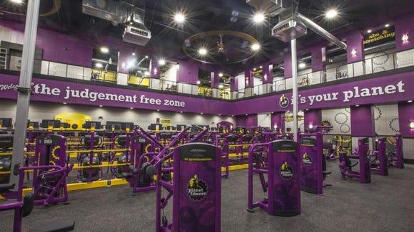 Inside Planet Fitness in Western Hills