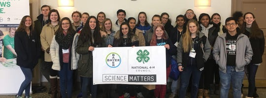 New Jersey 4-H members attended the National Agri-Science summit