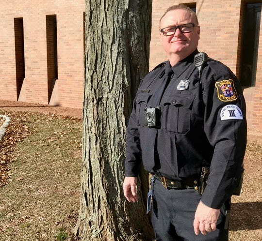 Linden Special Law Enforcement Officer Class III Keith Aslin, who formerly served at the detective lieutenant in charge of the Linden Police Department's Juvenile Aid Bureau.