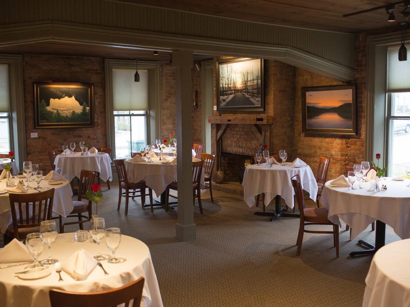 Inside the Frenchtown Inn.