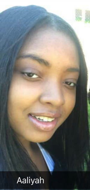 Aaliyah Moore of Detroit has been missing since Jan. 18. She suffers from depression and bipolar disorder.