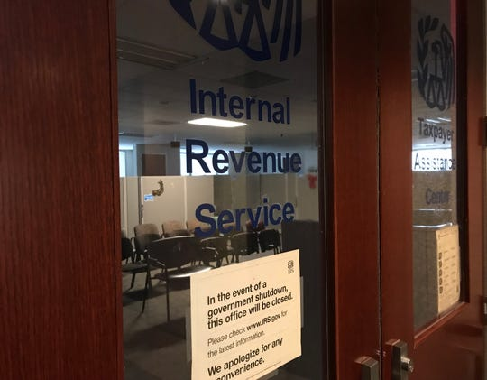 The Internal Revenue Service taxpayer assistance office in Detroit offers some help by appointment only. The office in Detroit remained closed Monday during the city's snowstorm.