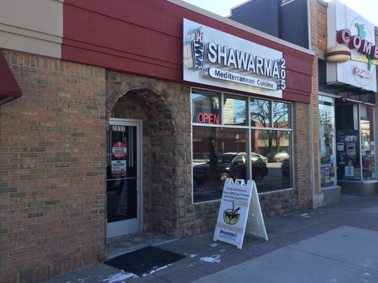Shawarma 205 closed after less than a year on Main Street.