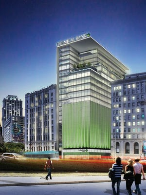 The future Chemical Bank headquarters