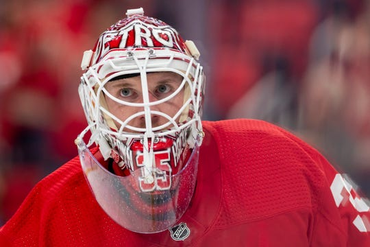 Red wings goaltender Jimmy Howard was an All-Star this season, and could be a trade chip at the deadline.
