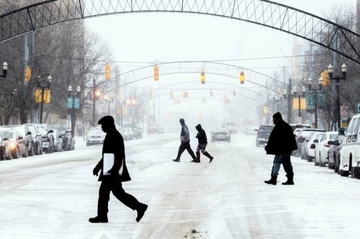 Plunge To Arctic Cold Hitting Michigan Tuesday