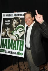 It's been 50 years since Joe Namath held that famous poolside chat with reporters ahead of the Super Bowl.