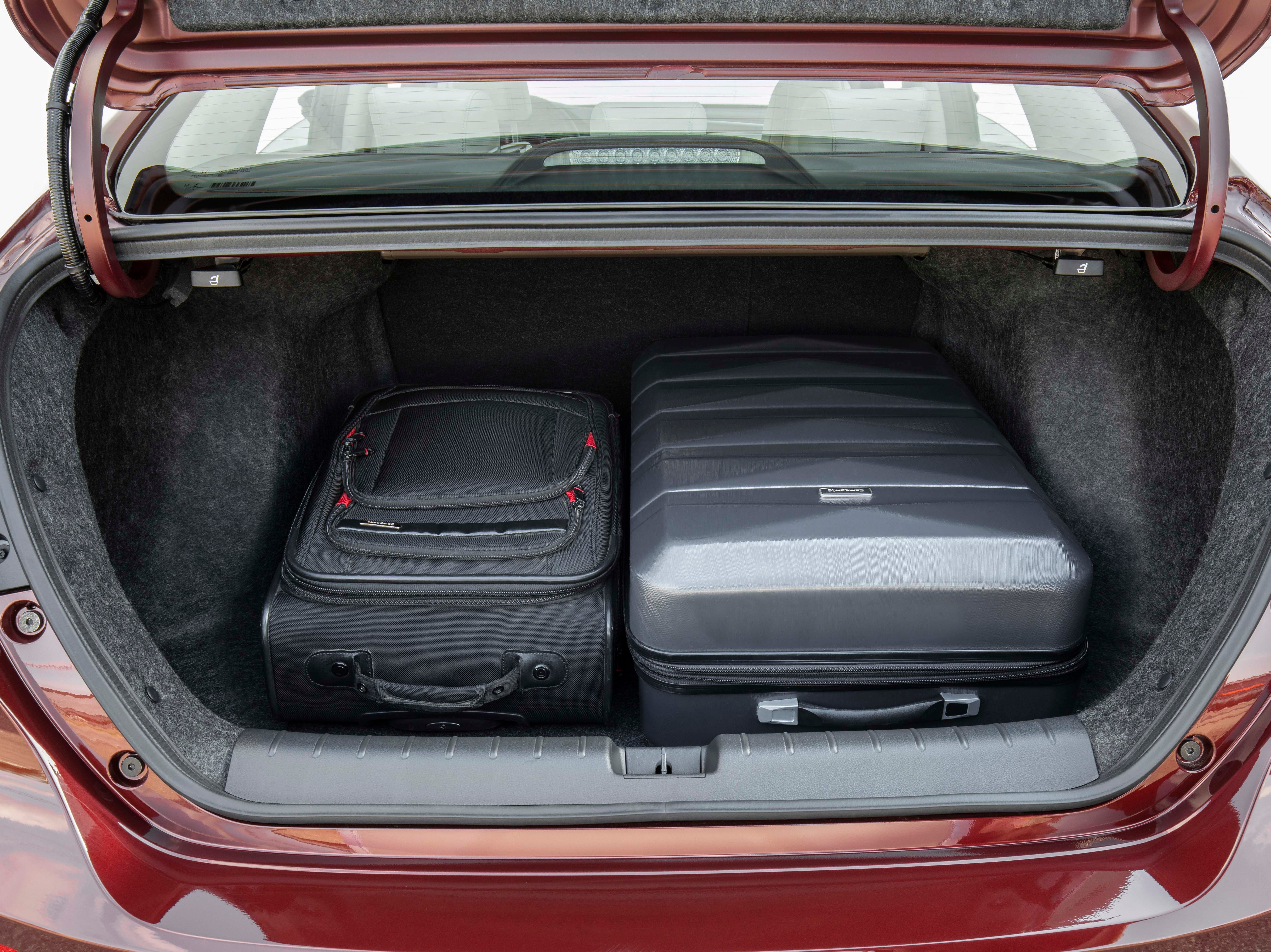 Roomy trunk. With clever battery packaging, the 2019 Honda Insight offers plenty of luggage storage.