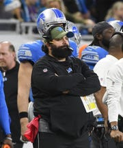 Head coach Matt Patricia went 6-10 in his first season with the Lions.