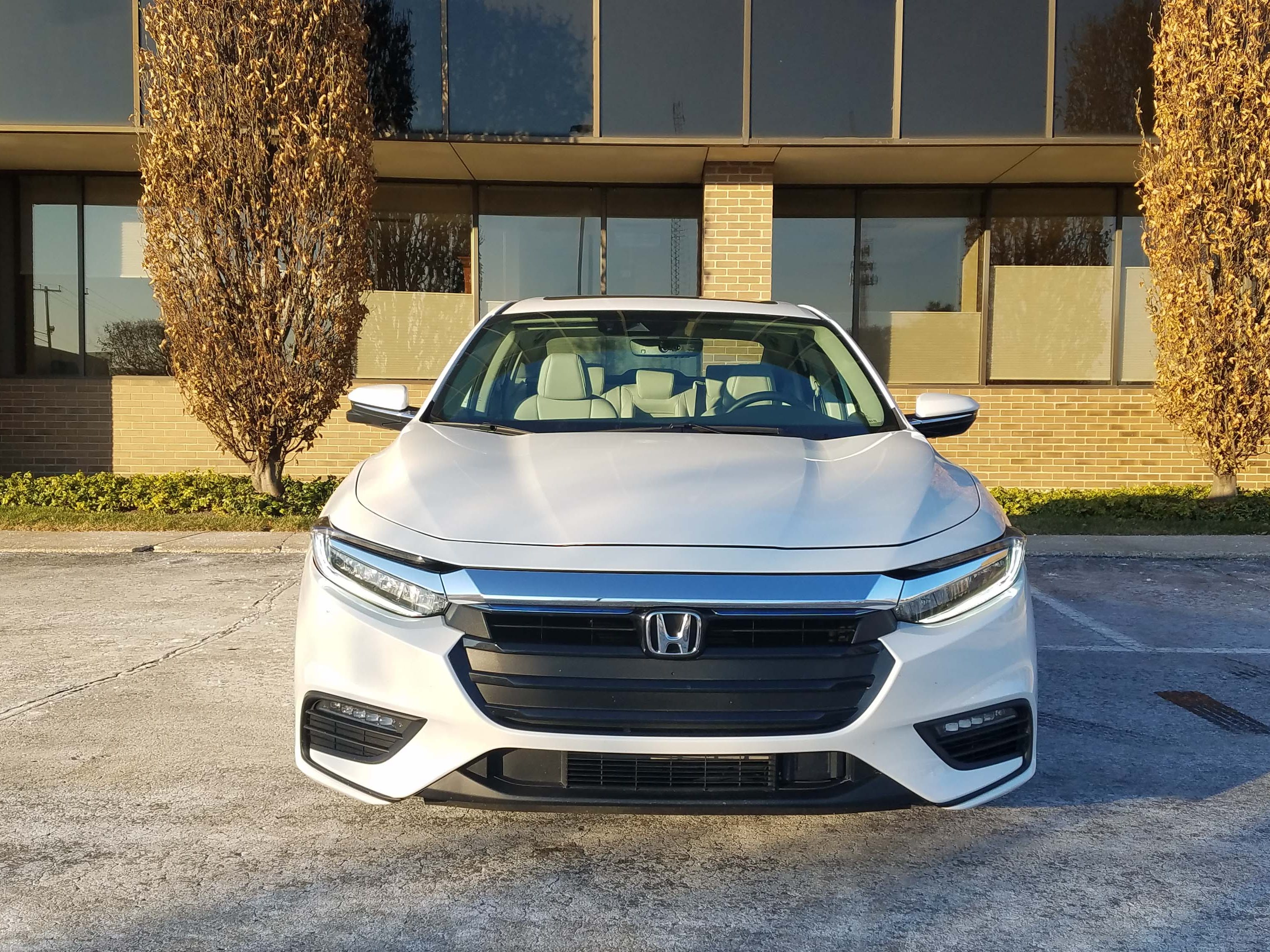 The 2019 Honda Insight hybrid offers a mature, handsome face that is more Acura in its design than Honda.