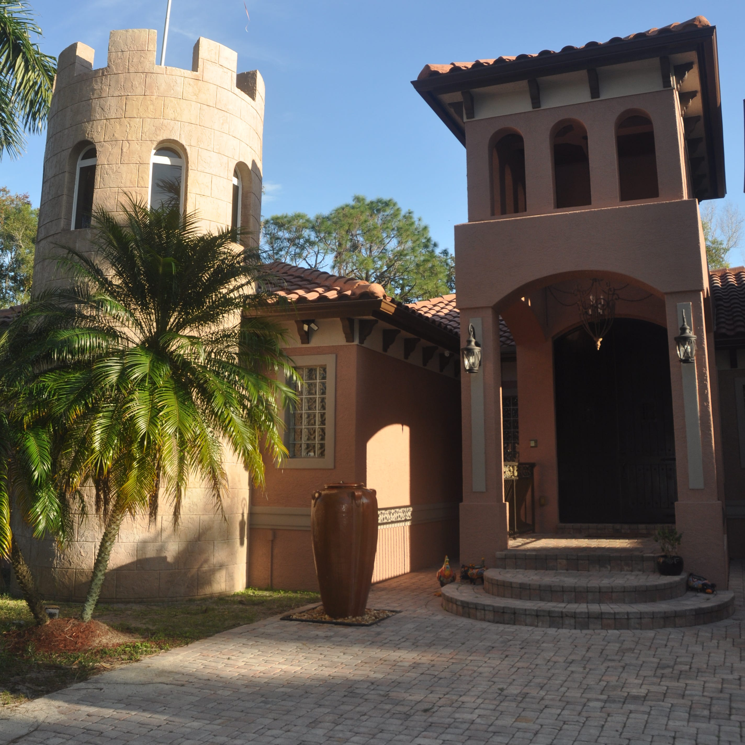 North Fort Myers 'castle' combines old world charm with modern conveniences