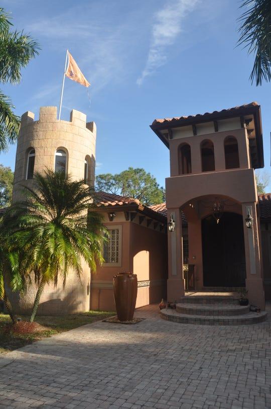 Le Chateau de Katharina looks like a castle inside and out.
