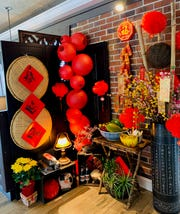 Viet Village has set up a Lunar New Year shrine in its south Fort Myers dining room.