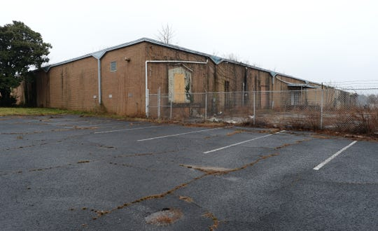 BART BOATWRIGHT/Staff A shopping center called Travelers Rest Crossing was proposed in 2005 for a shuttered textile plant, but plans never materialized. Former Emb-Tex building in Travelers Rest Monday, February 9, 2015.