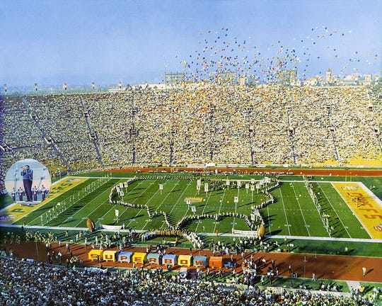 The first Super Bowl was played Jan. 15, 1967.