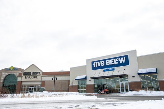 "Five Below is seen on Monday, Jan. 28, 2019, at the Coral Ridge Mall in Coralville, Iowa. The discount store's website says, ""everything, every day, is just $5 and below."""