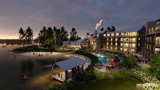 A new development including a conference center, lodge and other amenities could be coming to Okhissa Lake.