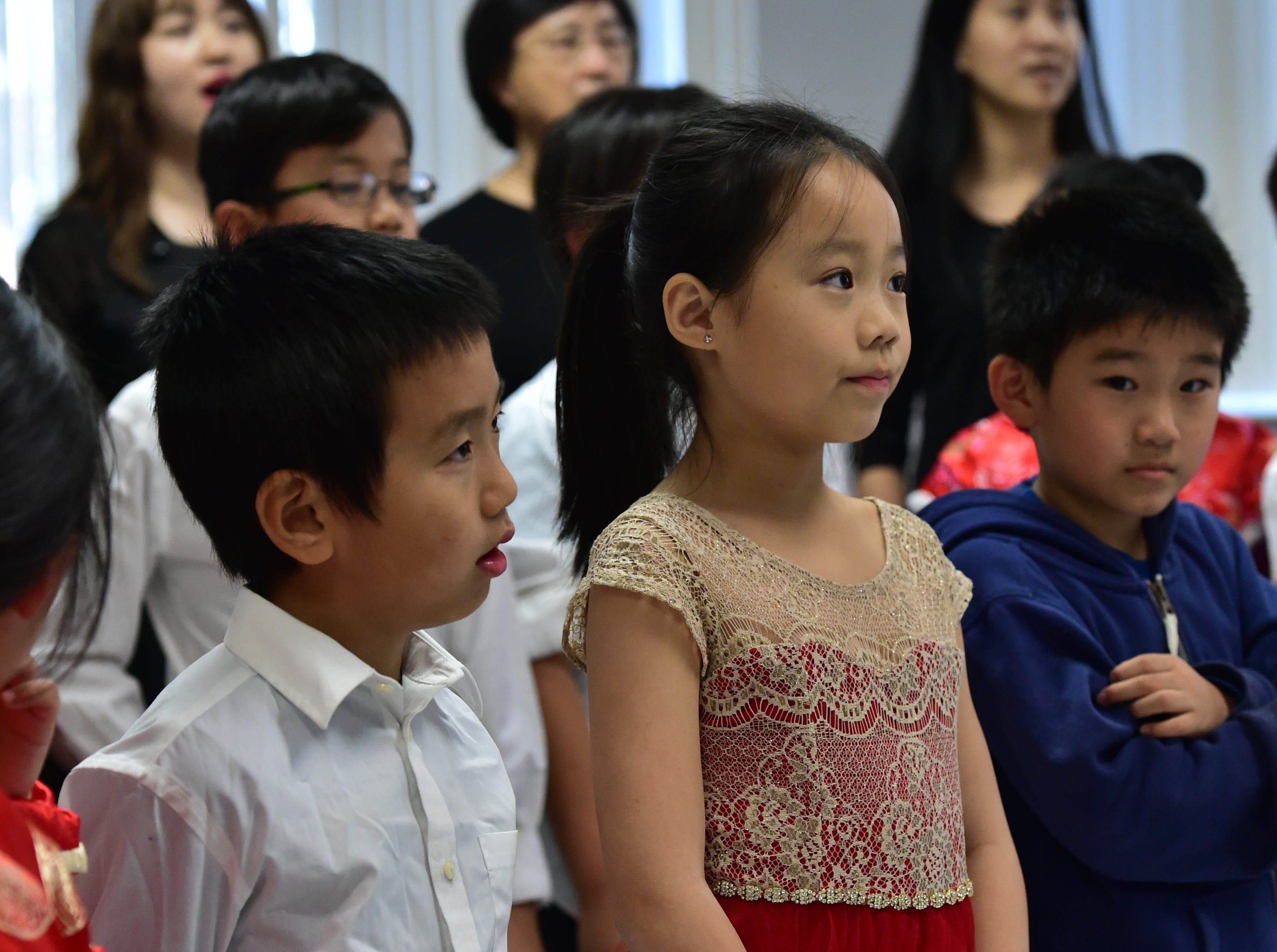Students from the Chinese School at Tougaloo College practice for the upcoming Chinese New Year events held during the Spring Festival at the Mississippi Museum Art on Feb. 2 in Jackson. Sunday, Jan. 27, 2019