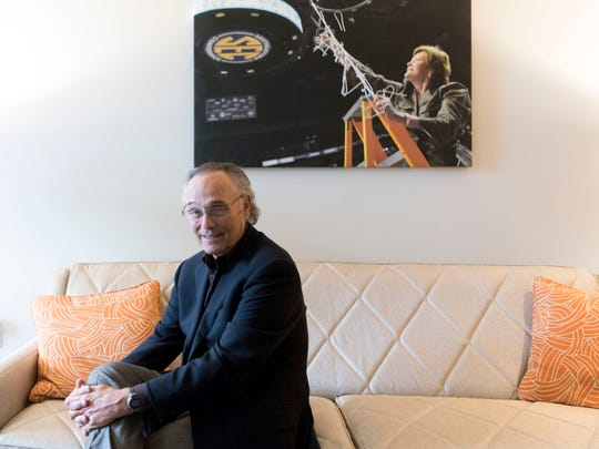 Nicholas Cazana in the Pat Summitt Suite at The Tennesseean Hotel on Monday, January 28, 2019. Cazana in agreement to sell The Tennessean and Holiday Inn at World's Fair Park hotels to Rockbridge Capital. Pending the sale, Rockbridge plans a $20 million-plus renovation of the Holiday Inn.