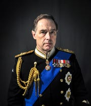 "Kurt Rhoads as Charles in the Clarence Brown Theatre's ""King Charles III"""