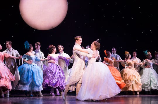 Lukas James Miller and Kaitlyn Mayse (and the cast of Rodgers &  Hammerstein's Cinderella.