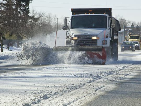 Roads are turning to an icy mess Monday night, according to police alerts and radio traffic.