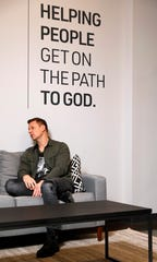 Tim Moore, lead pastor of X Church, talks Thursday, Jan. 24, 2019, about the church's recent name change from Crossroads.TV at the church's office at River Valley Mall in Lancaster. Aside from the name change the church plans to open a new campus in Canal Winchester.