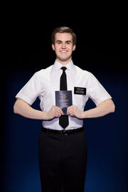 Actor Kevin Clay in The Book of Mormon
