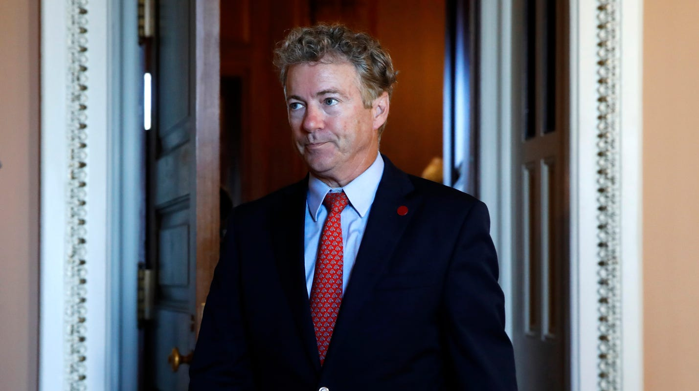 Video shows Rand Paul being verbally assaulted by 'aggressive libs,' aide says
