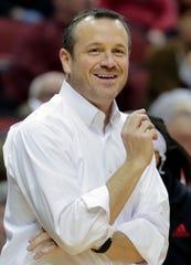 Louisville coach Jeff Walz
