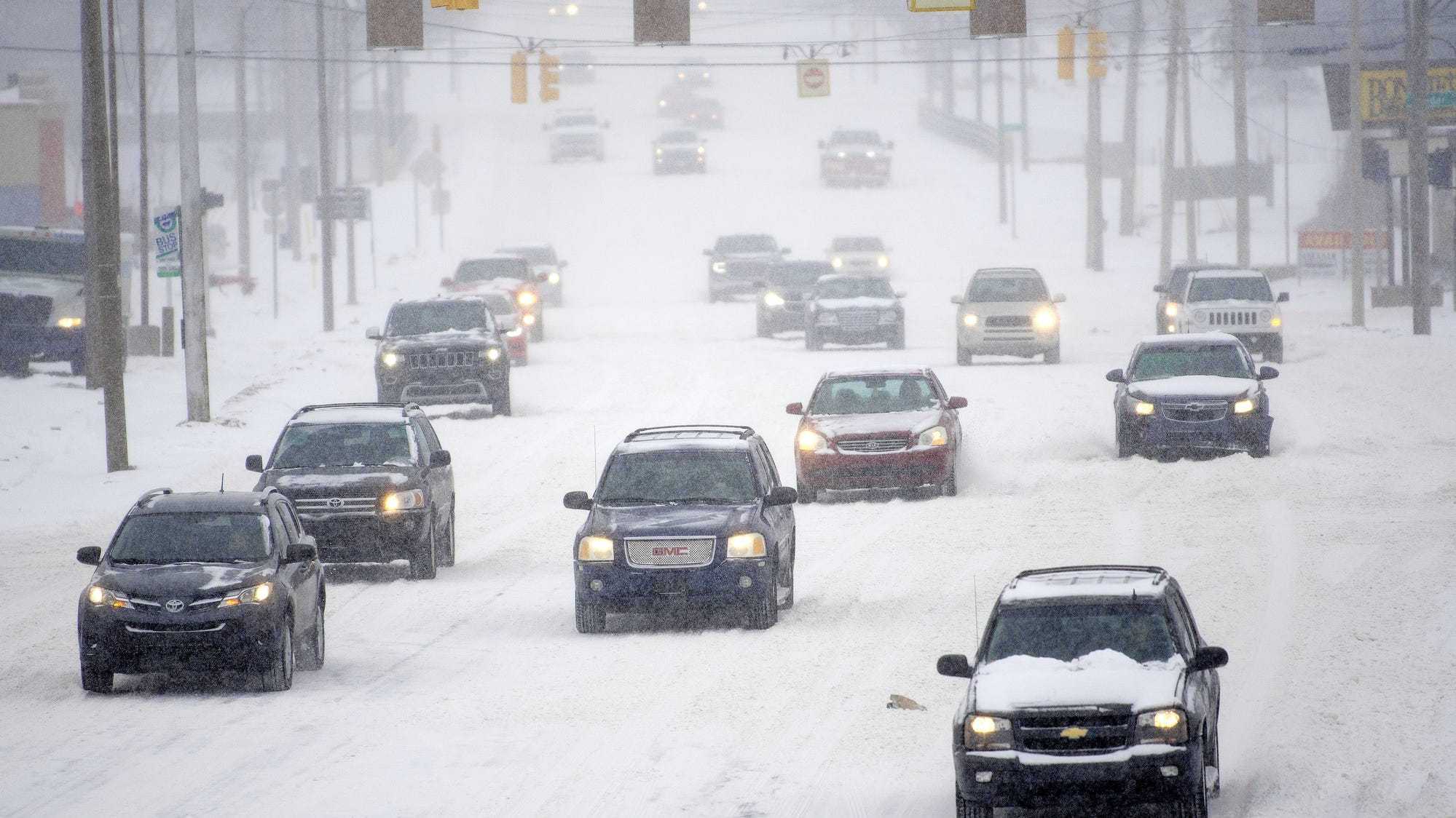 Lansing lifts travel restrictions, will delay sidewalk enforcement due to dangerous cold