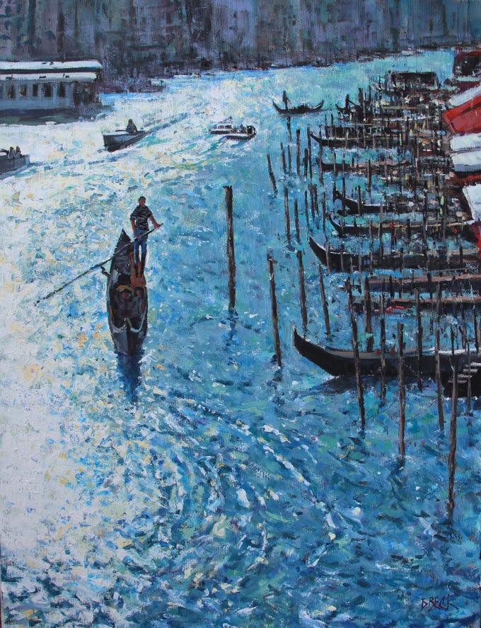 'Venice' by Manitowoc artist Bob Beck.