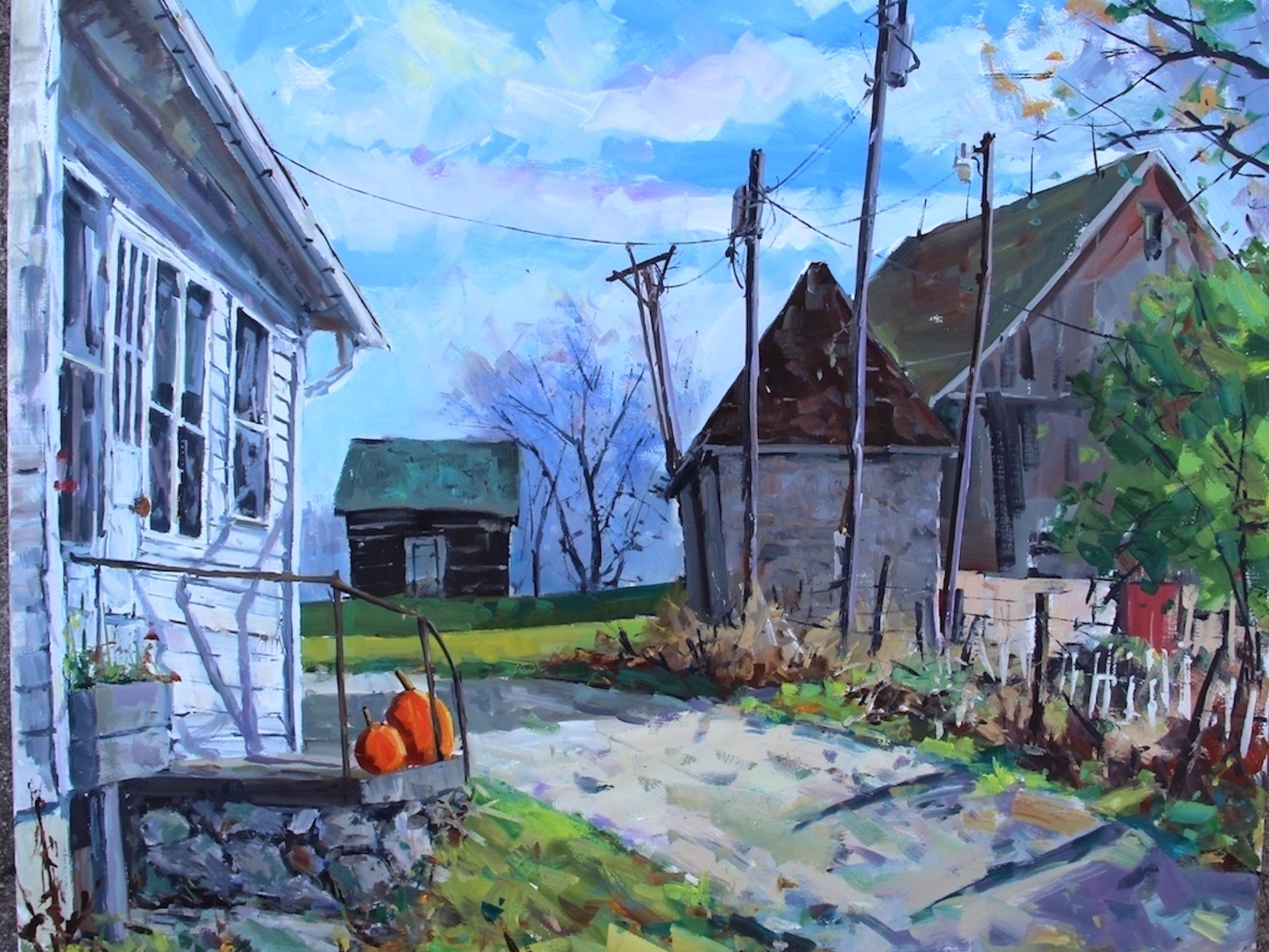'Jerome's View' by Manitowoc artist Bob Beck.