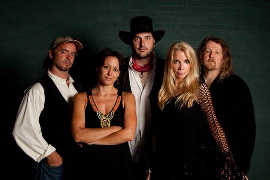 Members of Tusk, a Fleetwood Mac tribute band