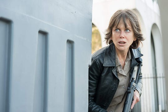 """A deglamorized Nicole Kidman is almost unrecognizable as a troubled police detective in """"Destroyer."""""""